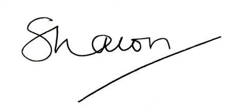 sharon eden signature